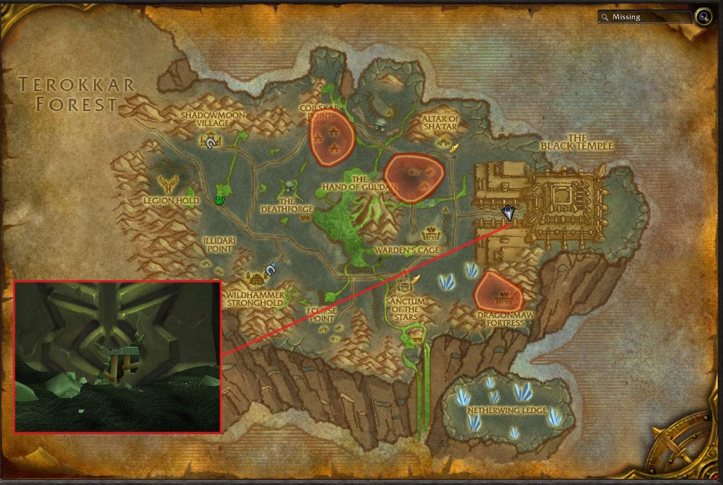 how to get to vale of eternal blossoms from draenor